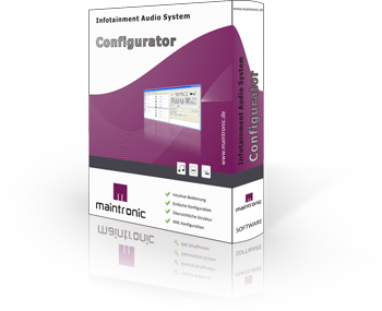 Infotainment Audio Player - Software - Infotainment Configurator